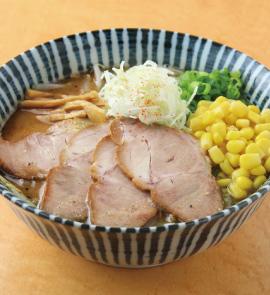 コーンチャーシュー麺(醤油・味噌)各1100円(税込)